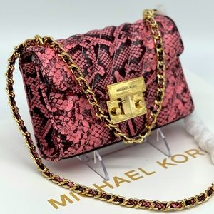 Michael Kors Rose Small Xbody Bag